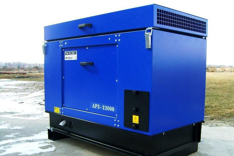 Agregat prądotwórczy trójfazowy Akmel AP3-20000 VEA