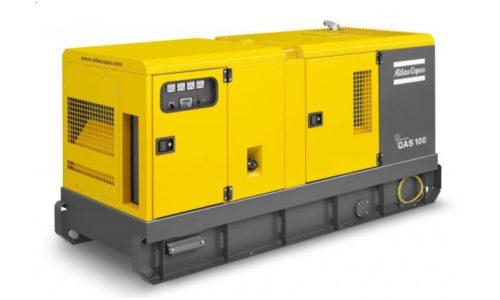 Agregat prądotwórczy trójfazowy Atlas Copco QAS 100