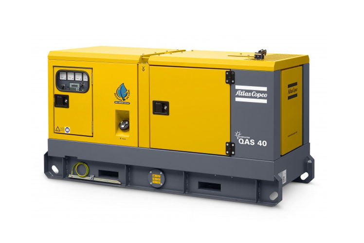Agregat prądotwórczy trójfazowy Atlas Copco QAS 40