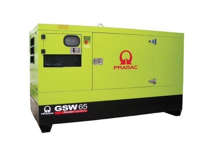 Agregat prądotwórczy trójfazowy Pramac GSL 65D
