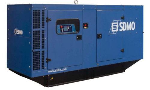 Agregat prądotwórczy trójfazowy SDMO R550